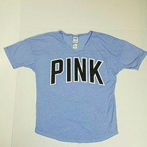 Pink Victoria's Secret tee shirt top NWT